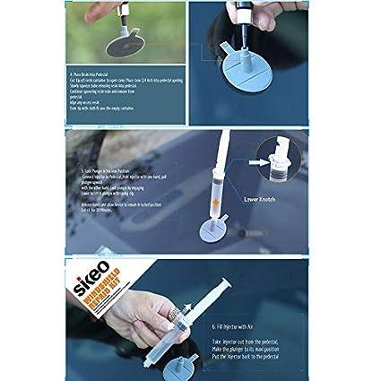 belupai Kit de reparación de Parabrisas Kit de reparación de Chips de Parabrisas de automóviles DIY de Parabrisas de automóviles - Quite rápidamente ...