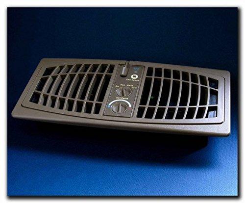 Breeze Booster (AirFlow Breeze 1000-0003 Register Booster Fan44; Brown - 4 x 10 in.)