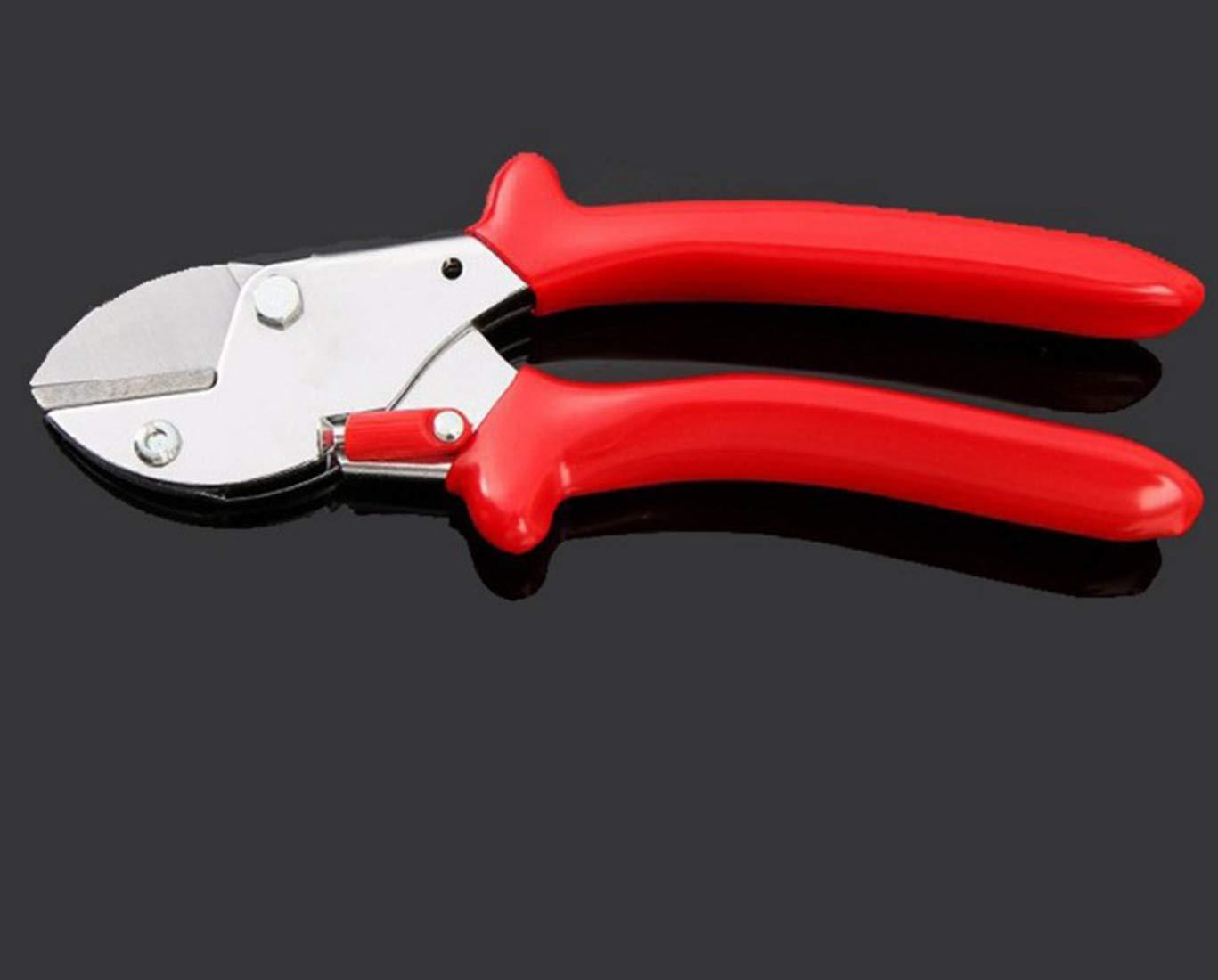 Mkulxina Cesoie da Giardino Leggero Cesoie da potatura da Giardino (Colore   Red, Dimensione   One Dimensione)