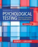 Psychological Testing, Robert J. Gregory, 0205959253