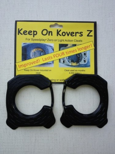 Keep on Kovers Z cleat cover for Speedplay zero or Light Action Cleats (Cleats in the photo is sold seperately