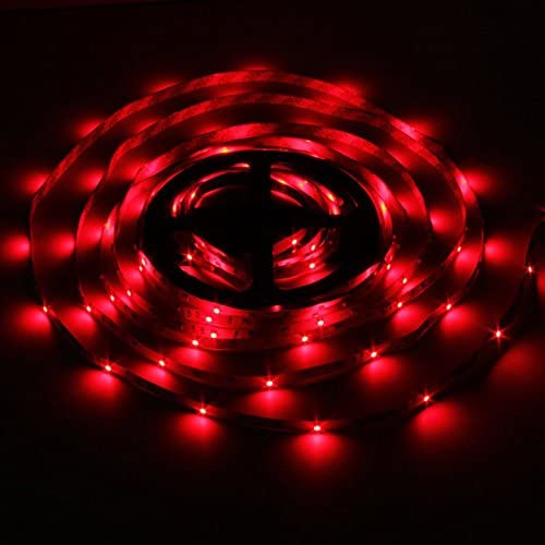 NAA 5M RGB 300 Led Color Changing Light Strip Lamp 44 Key Remote Controller Indoor String Lights
