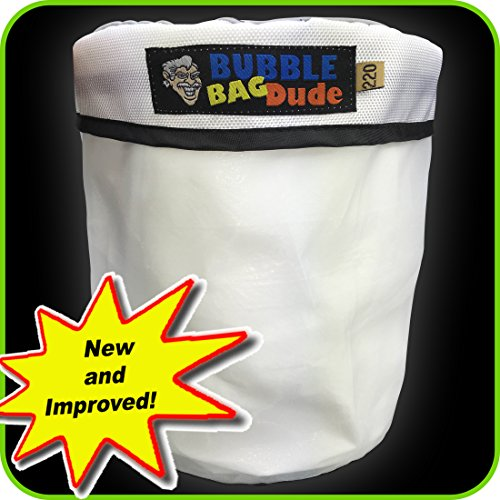 220 Micron Zipper Bag for 5 Gallon Bubble Machine Ice Now Magic - Herbal Extractor - From Bubblebagdude Offer Reusable Durable Quality Bag