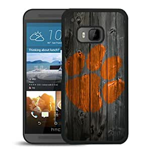 Popular Custom Designed Case For HTC ONE M9 With NCAA Atlantic Coast Conference ACC Footballl Clemson Tigers 7 Black Phone Case
