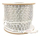 American Lighting ULRL-LED-WH-150 1-Reel 116-watt 945 Lumens 120V LED Dimmable Rope Light Bulk Reels, 150-Feet, White