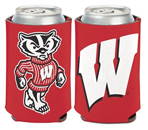NCAA University Wisconsin Badgers 1 Pack 12 oz. 2-Sided Can ()