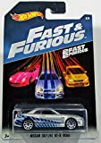 Hot Wheels 2017 Fast and Furious Nissan skyline GT-R R34 silver blue 2 fast 2 furious 2 8