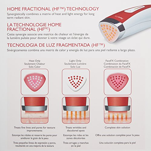 Silk'n FaceFX At Home Anti-Aging Skin Care Device with Red Light Therapy