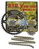 D.I.D (DKH-012G) 530VX Gold/Black Chain and 16 Front/43 Rear Tooth Sprocket Kit