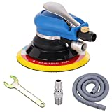 "Anesty 6"" Air Random Orbital Sander , Dual Action Pneumatic Orbit Polisher Grinding Sanding Tools with Vacuuming(Needed Air Compressor)"