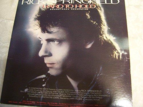 RICK SPRINGFIELD - Hard To Hold (1984) / Vinyl Record [vinyl-Lp] - Zortam Music