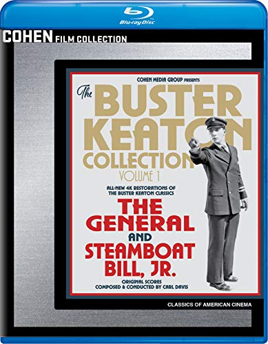 Buster Keaton Collection: Volume 1 [Blu-ray]