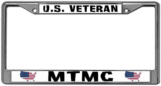Army Chrome License Plate Frames