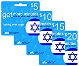Prepaid Phone Card - Cheap International calling card $10 for Israel with same day emailed PIN