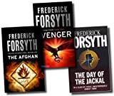 Frederick Forsyth Collection 3 Books Set (The Afghan, Avenger, The Day Of The Jackal)