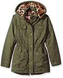Urban Republic Little Girls' Ur Cotton Twill Jacket, Dusty Olive 5808KDL, 5/6