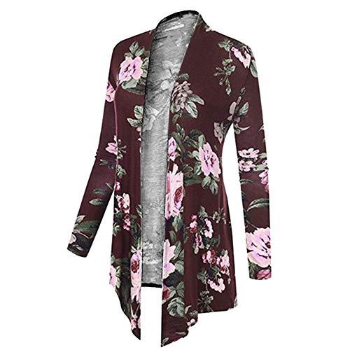 Manteau Imprimé Pour Charmant Grand Amuster Veste Format D'hiver Femme Rose Dame Vif wqpTEnCBH