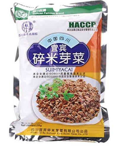 Yi Bin Sui Mi Ya Cai - YiBin SuiMiYaCai - Dried Vegetable, 8.1oz (Chinese Fried Pork)