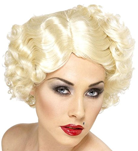 Ladies 1920s Fancy Dress Party Short Curl False Hair Hollywood Icon (20s Costumes Ebay)
