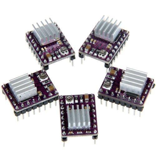 5x StepStick DRV8825 Stepper Motor Driver Module for 3D Printer Reprap RP A4988