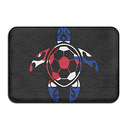 Youbah-01 Indoor/Outdoor Doormat with Cuba Flag Soccer Sea Turtle Graphic Pattern for Livingroom by Youbah-01