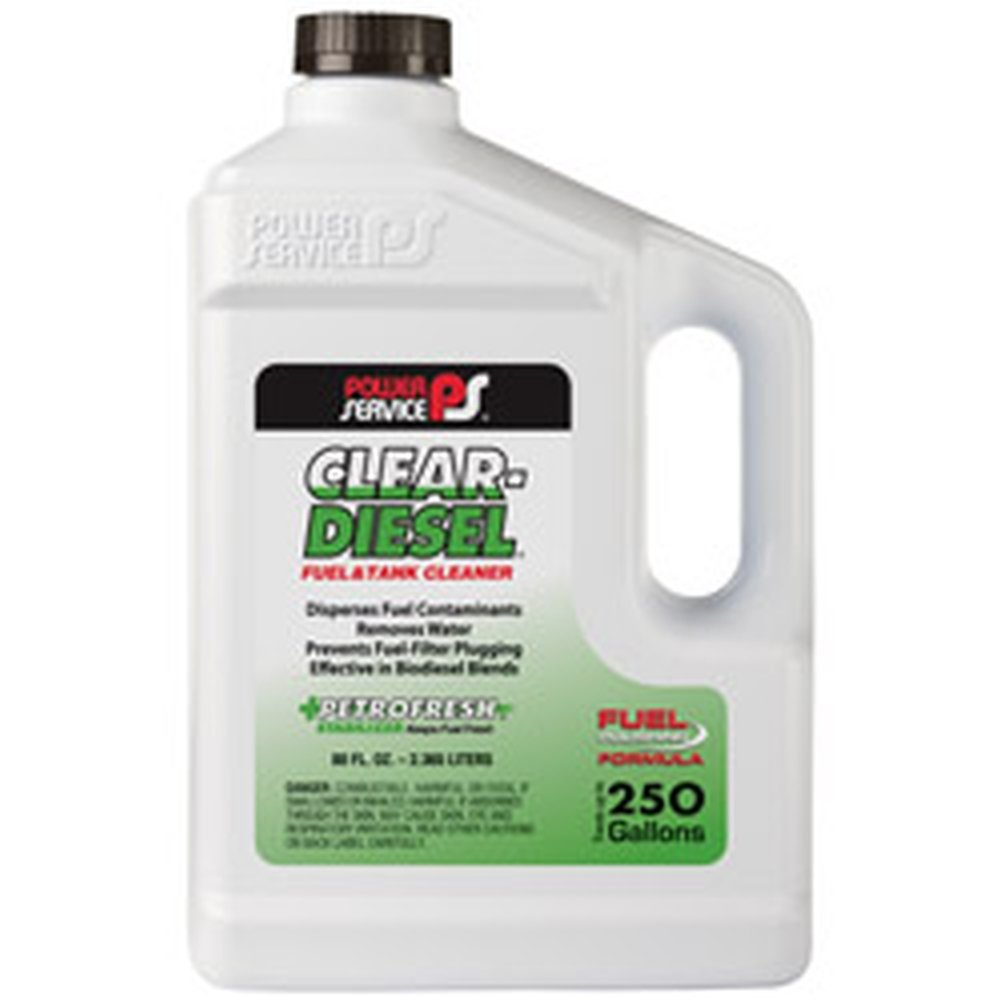 Power Service 09280-06 Clear-Diesel Fuel & Tank Cleaner - 80 oz. by Power Service