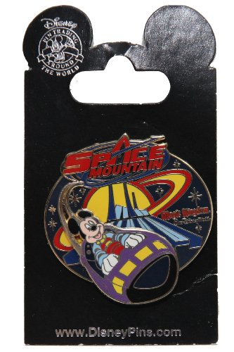 Disney Pin #47822: WDW - Space Mountain - Mickey Rocket Ship