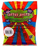 Cotton Mouth Candy Fruit Sugar Free Mix Bag 3.3oz (6 Pack)