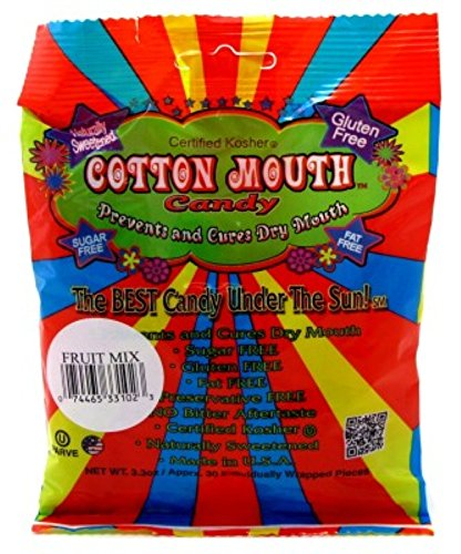 (Cotton Mouth Candy Fruit Mix Bag 3.3 Ounce (97ml) (3 Pack))