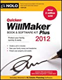 img - for Quicken Willmaker Plus 2012 Edition: Book & Software Kit by Editors Of Nolo (2011-11-16) book / textbook / text book