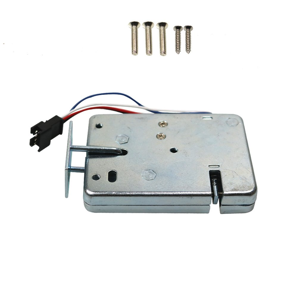 FCBB DC 12V 2A Electric Door Lock for File Cabinet Door Lock