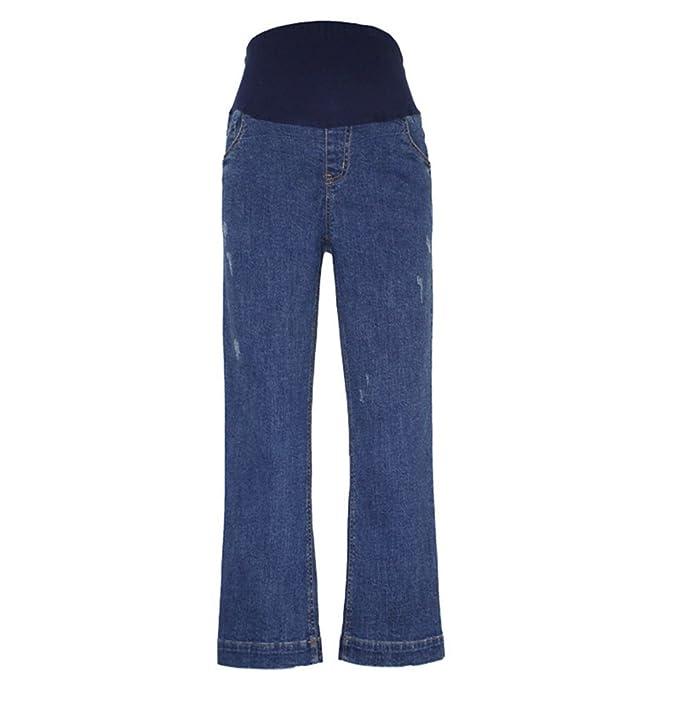 2018 New Women Maternity jeans, pantalones vaqueros ...