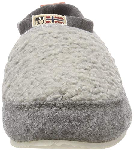 Misan Donna Grigio N80 grey Pantofole Napapijri Eaqdwa