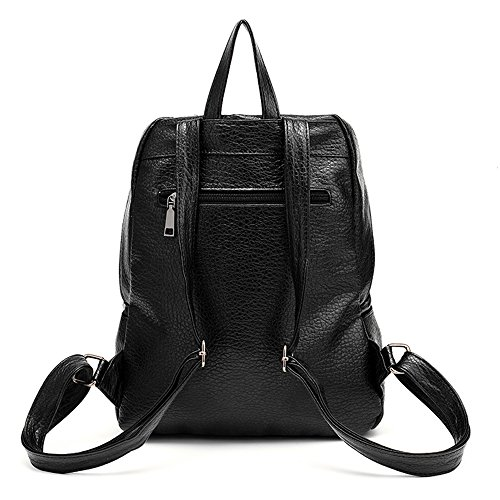 Vvting, Borsa a zainetto donna nero Black