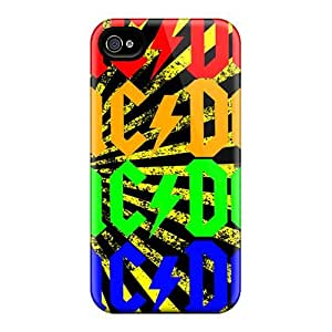Finleymobile77 Premium Protective Hard Cases For Iphone 4/4s- Nice Design - Ac Dc