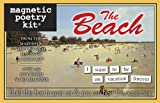 The Beach-Magnetic Poetry Kit