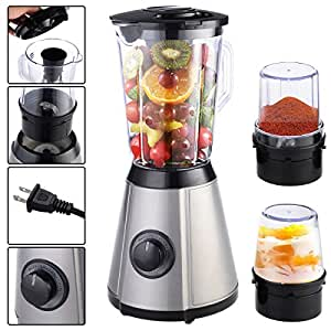 MasterPanel - 3in1 Electric Blender Mixer Chopper Grinder Multi Function Food Fruit Processor #TP3388