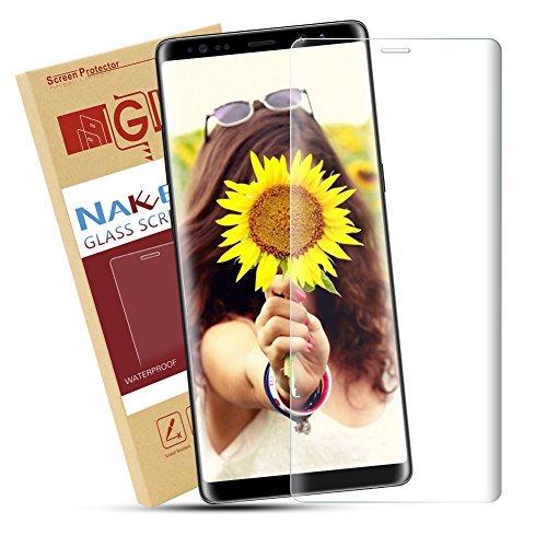 Note 8 Schutzfolie,Nakeey Galaxy Note 8 Displayschutzfolie Folie Panzerglas Displayschutz Glass Screen Protector für Samsung Galaxy Note 8 Schutzfolie [Vollständige Abdeckung]