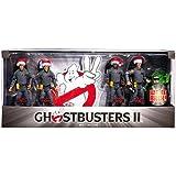 Mattel Ghostbusters 2 Exclusive Holiday 6 Inch Action Figure 4Pack Box Set Stantz, Venkman, Zeddemore Spengler with Slimer!