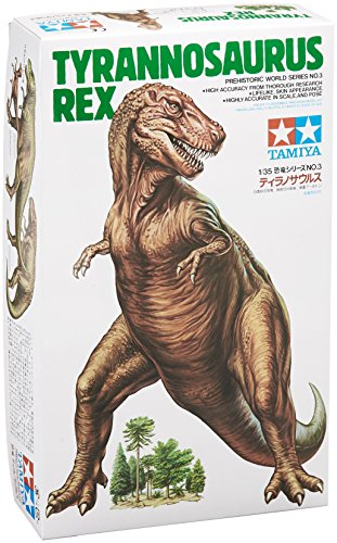 Tamiya Models Tyrannosaurus Rex Model Kit (Tyrannosaurus Model)