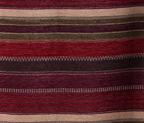 "North End Décor Boulder Creek Stripe Room Darkening Curtain Panels, 2 Panels (48"" x 84"" each) Included"