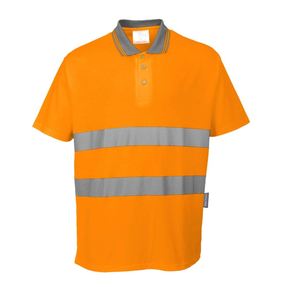 Portwest S171ORRXS - Polo de algodón, talla XS, color naranja ...