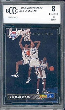 Shaquille O'Neal Graded BCCG 10 GOLD 1996 Upper Deck LA Lakers SHAQ MAGIC Verzamelkaarten: sport 2