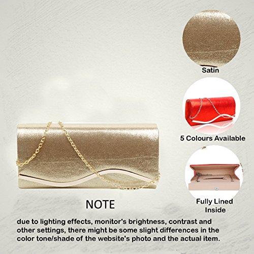 Redfox pour Pochette silver Redfox femme Pochette 1Pq1wFHrn