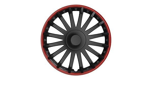 Universal Tapacubos Tapacubo Negro 14 pulgadas para el vehículo de ...