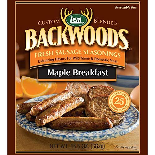 LEM Backwoods Maple Breakfast Fresh Sausage Seasoning