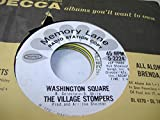 THE VILLAGE STOMPERS 45 RPM Washington Square / From Russia With Love