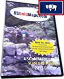 Wyoming **GPS** Active & Abandoned Gold Claims + Federal USGM Quad-View Gold Sites Maps Bundle - 2013 Edition - (for Garmin BaseCamp & Garmin nuvi compatible GPS Devices)
