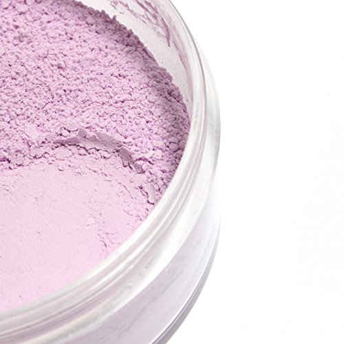 (Mallofusa Translucent Loose Face Powder Makeup Palette Oil -Control Loose Setting Powder Foundation Warm Pink (4#))
