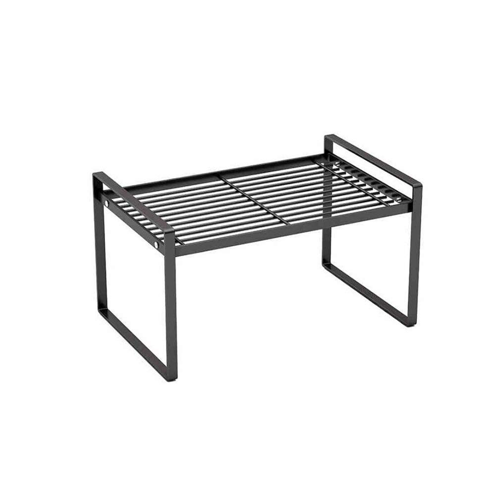 Kitchen Household Racks Under The Sink Cabinets Tiered Shelves Kitchen Partitions Pot Rack Rice Cooker Desktop Pot Rack Multi-Layer Storage Yixin (Color : A, Size : 32.318.520.5cm)